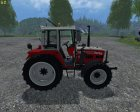 Steyr 8090a Turbo SK2 Electronic for Farming Simulator 2015 rear-left view