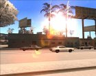 Beautiful Sun for SA-MP v4.0 для GTA San Andreas вид сверху