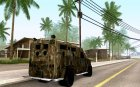 Lenco Bearcat NYPD for GTA San Andreas rear-left view