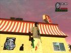 Пак зелёного оружия for GTA San Andreas rear-left view