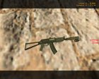 AK-47 - Dark Hunter с Лазером for Counter-Strike 1.6 top view
