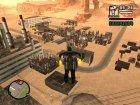 Мёртвый город в пустыне для GTA San Andreas вид сзади