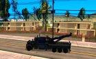 Peterbilt 379 Wrecker для GTA San Andreas вид слева