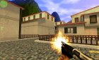 Retex Silver unfolded stock M3 With new Sounds for Counter-Strike 1.6 left view