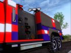 Hummer H2 Firetruck Fire Department City of Los Sanos для GTA San Andreas вид справа