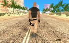 Dwayne Johnson for GTA San Andreas rear-left view