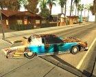 Новая покрасочная работа для Remington for GTA San Andreas rear-left view