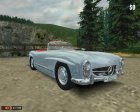 Mercedes-Benz 300SL Roadster for Mafia: The City of Lost Heaven left view