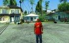 DRUNK MOD для GTA San Andreas вид сзади слева