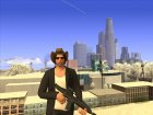 Skin GTA V Online в Ковбойской шляпе для GTA San Andreas