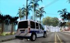 Ford Transit Connect Turkish Police для GTA San Andreas вид сверху