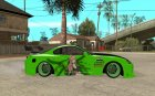 Toyota Supra Tuned for GTA San Andreas inside view