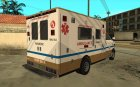 GTA 5 Brute Ambulance для GTA San Andreas вид сверху
