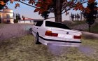 BMW E34 for GTA San Andreas rear-left view