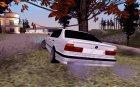 BMW E34 для GTA San Andreas вид сзади слева
