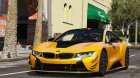2015 BMW I8 for GTA 5 back view