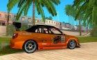 Yukes Subaru Impreza for GTA San Andreas inside view