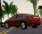Nissan Maxima 2009 for GTA San Andreas rear-left view