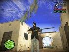 Navy Blue Sniper для GTA San Andreas вид слева