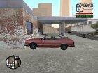 Анимация при авариях для GTA San Andreas вид слева