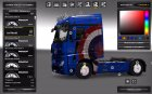 Plastics Wheels Cover for Euro Truck Simulator 2 inside view