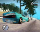 Cheetah By BlueRay для GTA San Andreas вид изнутри