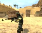 Jungle Camo CT для Counter-Strike Source вид сверху