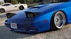 Mazda RX7 FC3S для GTA 5 вид изнутри