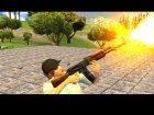 AK-47 Egyptian Maadi для GTA San Andreas вид сбоку