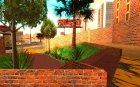 Новые текстуры госпиталя в Лос Сантосе for GTA San Andreas rear-left view