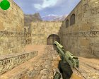 Engraved Desert Eagle (Серебренный) для Counter-Strike 1.6 вид сзади слева