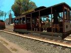 Пак реальных поездов V.2 от VONE для GTA San Andreas вид слева