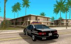 Полицейская машина для GTA San Andreas вид сзади слева