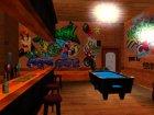 Новые текстуры бара на Grove street для GTA San Andreas вид сзади