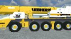 Автокран Liebherr INKL. Hebegestell for Farming Simulator 2013 left view