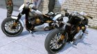 Harley-Davidson Fat Boy Lo Racing Bobber Lost MC Custom 1.1 for GTA 5 right view