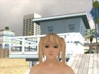 Dead or Alive 5 LR Marie Rose Nude for GTA San Andreas rear-left view