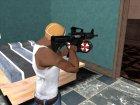 Оружие из Resident Evil для GTA San Andreas вид сзади слева