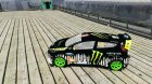 Ken Block Ford Fiesta 2011 для GTA 4 вид слева