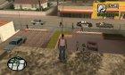 Работающие ворота на Grove for GTA San Andreas side view