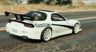 Mazda RX7 C-West 1.2 for GTA 5 rear-left view