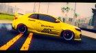 2010 KIA Forte Koup SX Rocket Bunny Works для GTA San Andreas вид изнутри