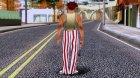Left 4 Dead 2 Clown для GTA San Andreas вид сверху