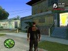 Футболка к пасхе для GTA San Andreas вид слева