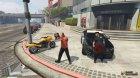 Cops: Back on the Beat для GTA 5 вид изнутри