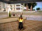 Рубашка с огнем для GTA Vice City вид слева
