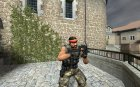 DavoCnavo's Improved P90 для Counter-Strike Source вид сверху