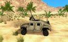 Hummer H1 Irak для GTA San Andreas вид слева
