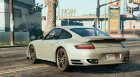 Porsche 911 Turbo for GTA 5 left view