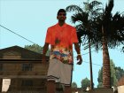 Гавайская рубашка для GTA San Andreas вид слева